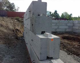 Mur beton prefabrique soutenement - Maison bloc modulaire ...