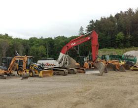 Pelles excavatrices- Location de machinerie lourde dans les Laurentides Excavation Groupe Écono
