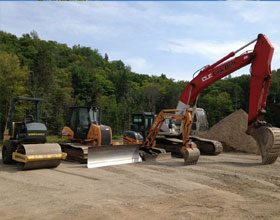 Location de machinerie chez Excavation Groupe Écono Laurentides